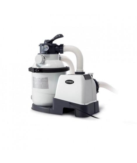 INTEX Filtre a sable 4 m³/h - Pour Piscine jusqu'a 24 m³