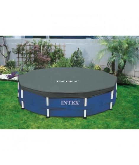 INTEX Bâche protection pour piscine ronde 4,57m