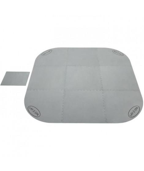 Tapis de sol pour spa carré ou rond Lay-Z-Spa 216 x 216 cm