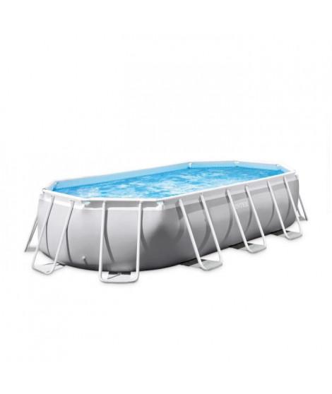 INTEX Kit piscine tubulaire Prism Frame - 609,6 x 304,8 x 121,92 cm