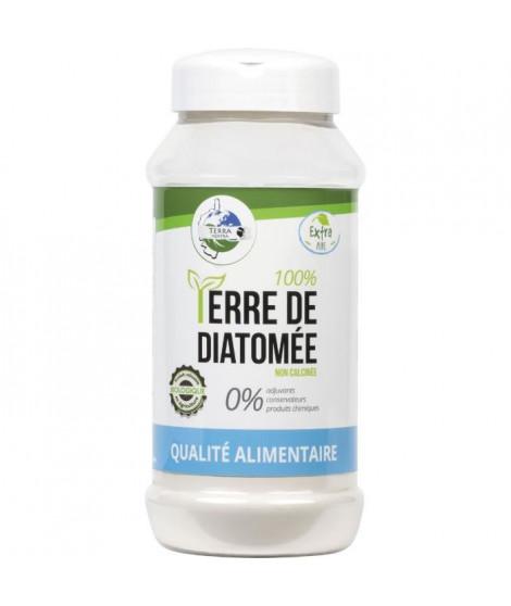 TERRA NOSTRA 100% Terre de diatomée - Qualité Alimentaire - Poudreuse 300 g