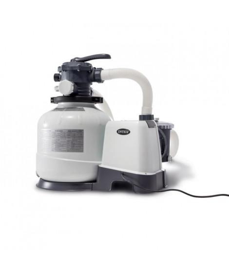 INTEX Filtre a sable 8 m³/h - Pour Piscine jusqu'a 56 m³