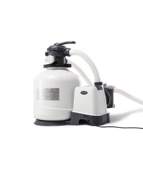 INTEX Filtre a sable - 10 m³/h - Pour Piscine jusqu'a 65 m³