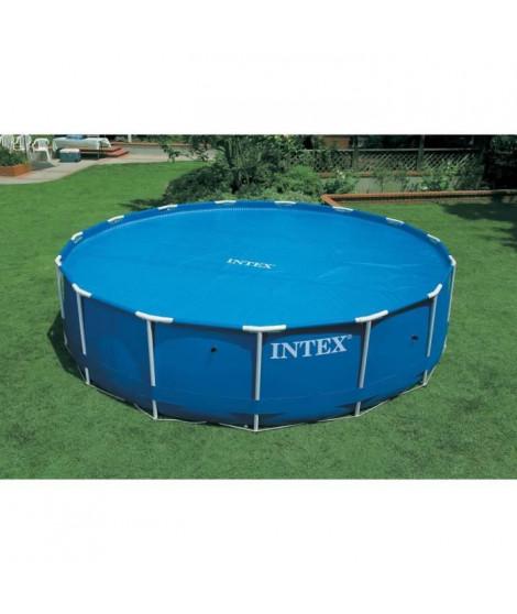 INTEX Bâche a bulles piscine ronde diametre 3,05 m