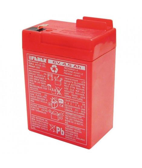 Batterie pour véhicule électrique - 6 volts 4 ah - FEBER