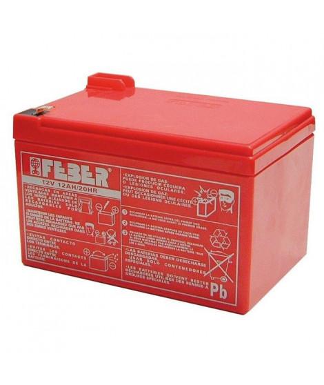 Batterie pour véhicule électrique - 12 volts 10 ah - FEBER