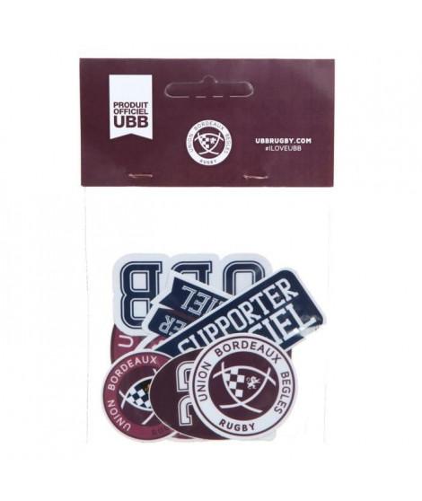 UBB Lot de 6 Stickers