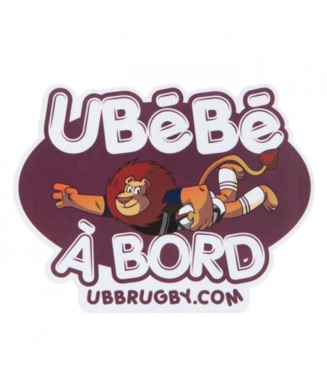 UBB Sticker Ubebe A Bord