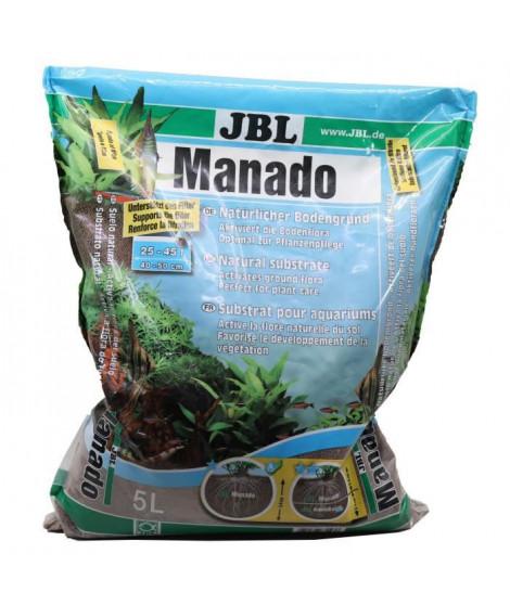 JBL Substrat de sol Manado - Pour plantes d'aquarium - 5l
