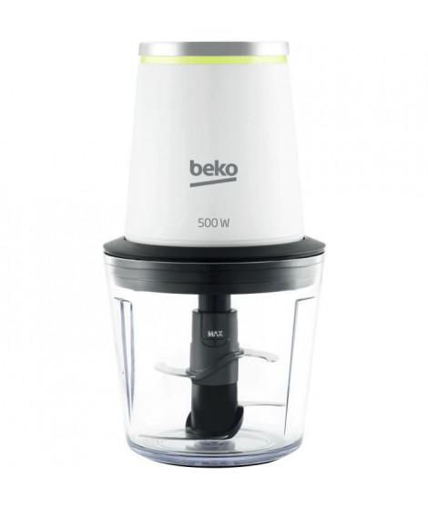 BEKO CHP7504W - Hachoir - Puissance :  500 W  - Bol plastique 500ml