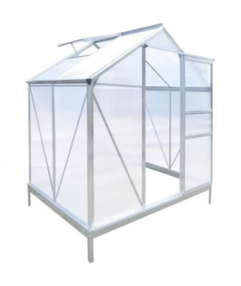 Serre de Jardin - 2,51 m2 - Aluminium & Polycarbonate