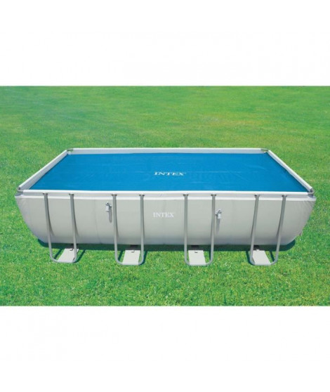 INTEX Bâche a bulles piscine tubulaire 5,49x2,74m