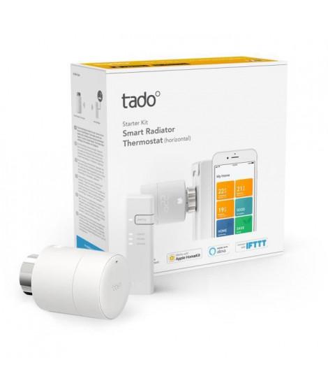 TADO Tete Thermostatique connectée Kit de démarrage V3+