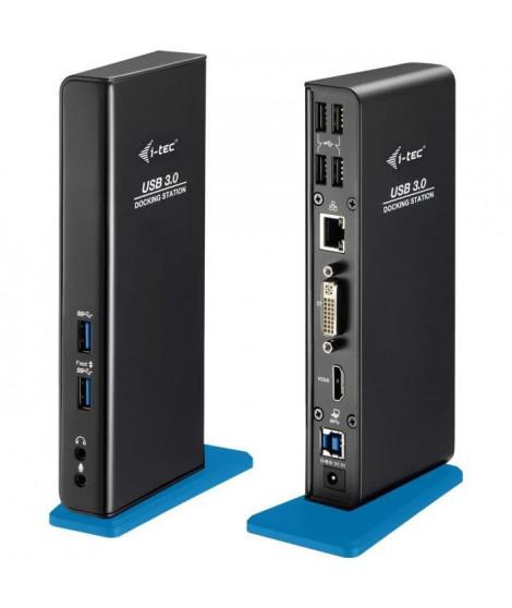 I-TEC Station d'accueil ADVANCE USB 3.0 pour Notebook/Tablette PC - 7 x Ports USB - 4 x USB 2.0 - 3 xUSB 3.0 - Réseau (RJ-45)