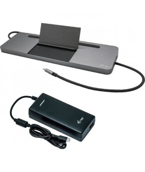 i-tec - USB-C Station d'accueil avec Adaptateur Secteur Universel -