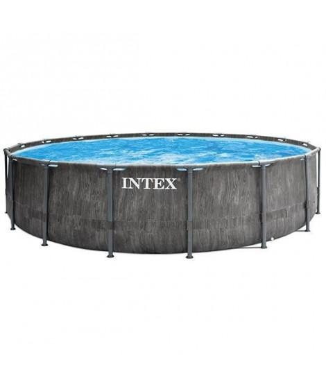 INTEX Kit Piscine 26742NP tubulaire Baltik - 4m57 x 1m22