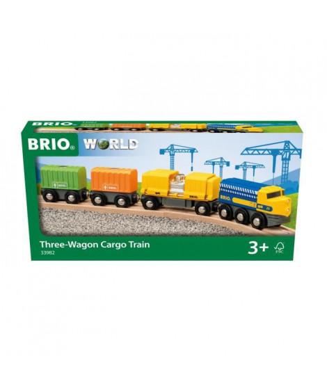 BRIO - 33982 - LONG TRAIN DE MARCHANDISES