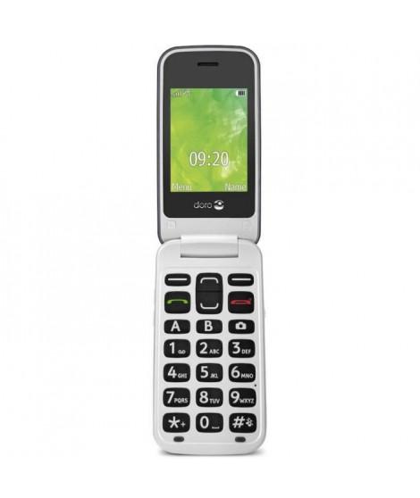 DORO 2414 Téléphone mobile - GSM - 320 x 240 pixels - 3 MP - Argent
