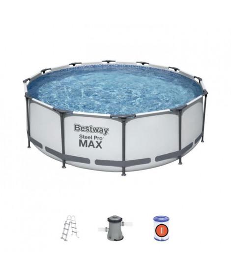 BESTWAY Piscine hors sol Steel Pro Max - 366 x 100 cm