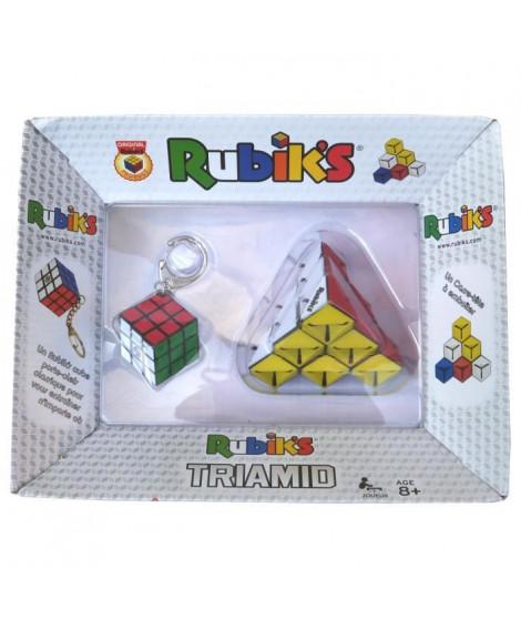 RUBIK'S Triamid + Porte-Clefs 3x3