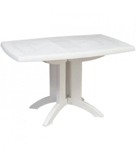 GROSFILLEX Table Vega 118x77 - Blanc