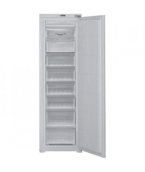 TELEFUNKEN ITC197F - Congélateur armoire - Encastrable - 197L - No Frost - L 54 x H 87.5 cm - Fixation Glissieres