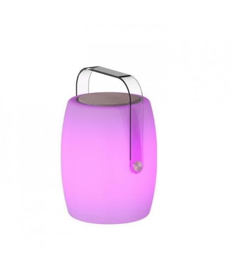 LUMISKY Lampe musicale d'extérieur avec haut parleur - 21 x 21 x 31 cm