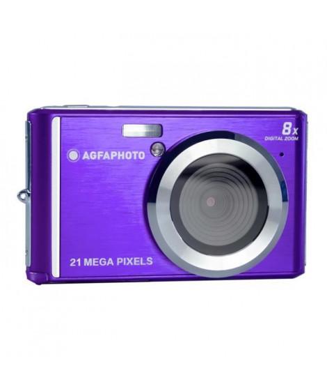 AGFA PHOTO Realishot DC5200 - Appareil Photo Numérique Compact (21 MP, 2.4'' LCD, Zoom Digital 8x, Batterie Lithium) Violet
