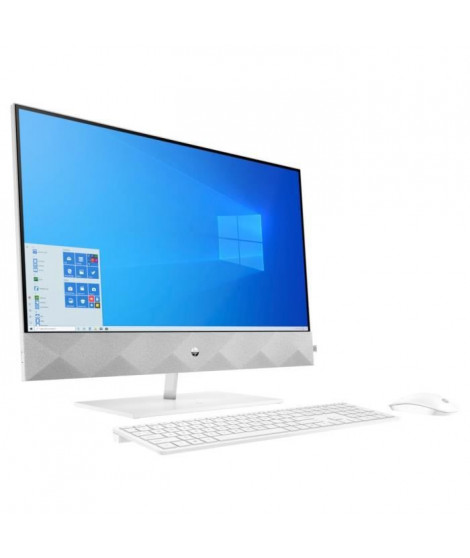 HP PC All-in-One 27-d0035nf - Core i5-10400T - RAM 16Go - Stockage 256Go SSD + 1To HDD - Windows 10