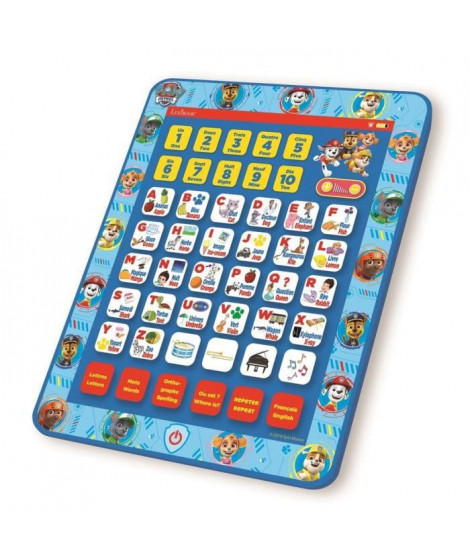 Tablette éducative bilingue Pat' Patrouille (EN/FR)
