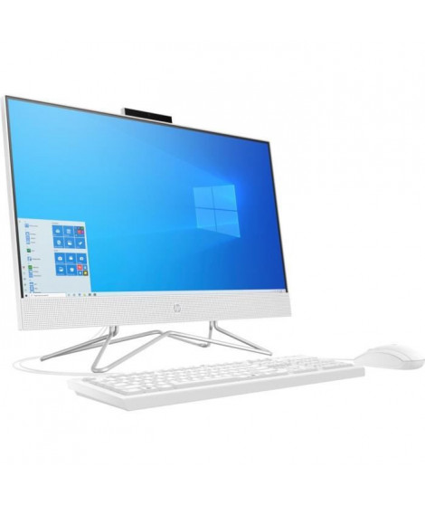 HP All-in-One 24-df0131nf - 24HD - Ryzen3 3250U - RAM 8Go - Stockage 256Go SSD - Windows 10