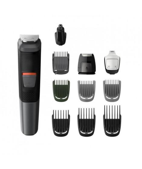 PHILIPS MG5730/15 Tondeuse Barbe / Cheveux : 11 en 1 - tondeuse nez, oreilles, corps - Lames DualCut - Etanche - Autonomie 80…