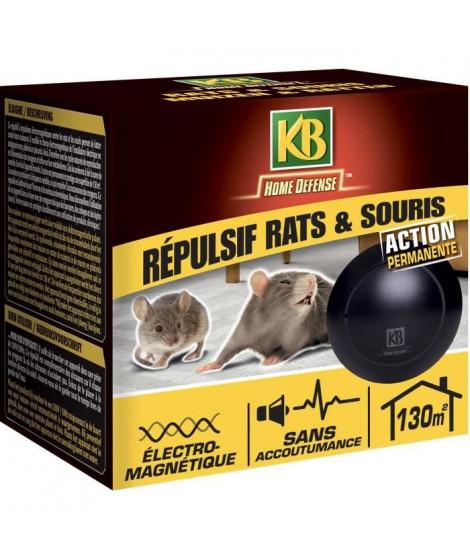 Répulsif rats et souris électromagnétique 130m²
