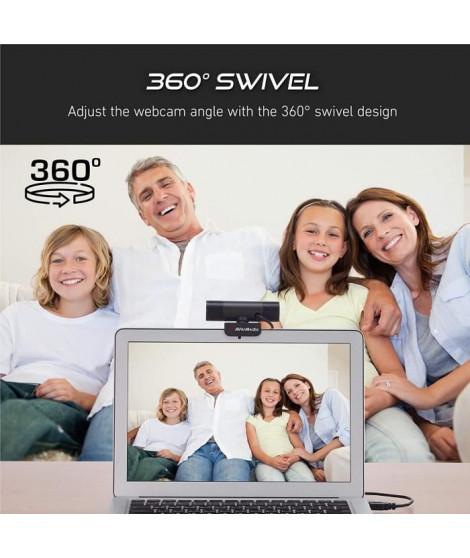 AVerMedia Webcam PW315, Qualit' Vid'o Ultra Fluide Full HD 1080p ... 60 images/seconde, Id'al pour Streaming et Appels Visio HQ
