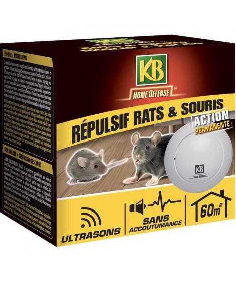 Répulsif rats et souris ultrasons 60m²