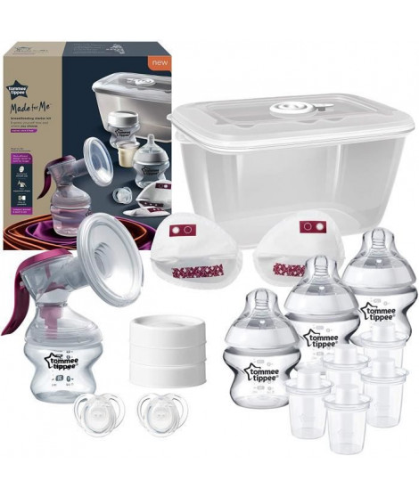 TOMMEE TIPPEE Starter Kit Allaitement Manuel Made for Me