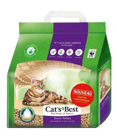 CAT'S BEST Litiere végétale agglomérante pour chat - 7 l