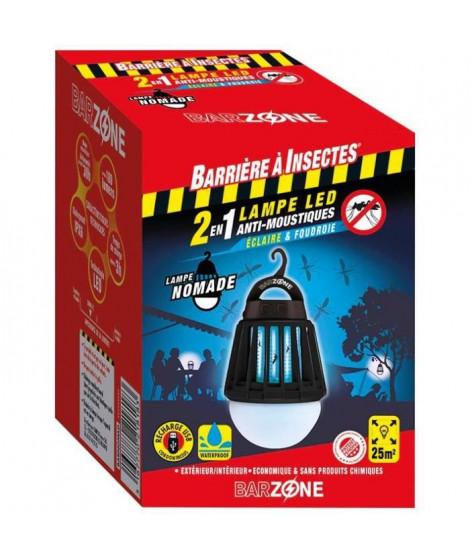 BARRIERE A INSECTES Lampe LED nomade anti-moustiques 2 en 1