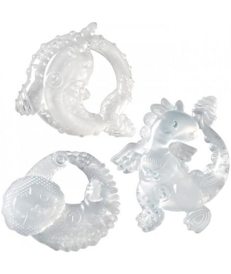 INFANTINO Coffret anneaux de dentition trois étapes