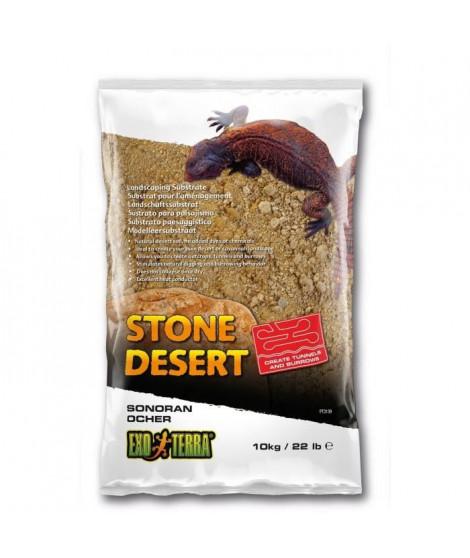 EXO TERRA Substrat désert de pierres Sonora Ocher 10kg - Pour reptiles