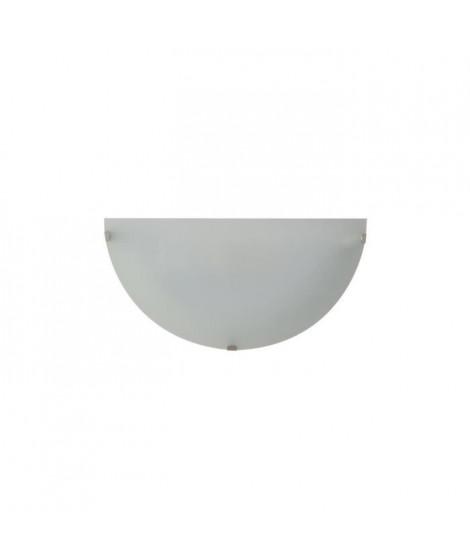 COREP Applique Serena lune base en métal peint - E27 60 W - Blanc