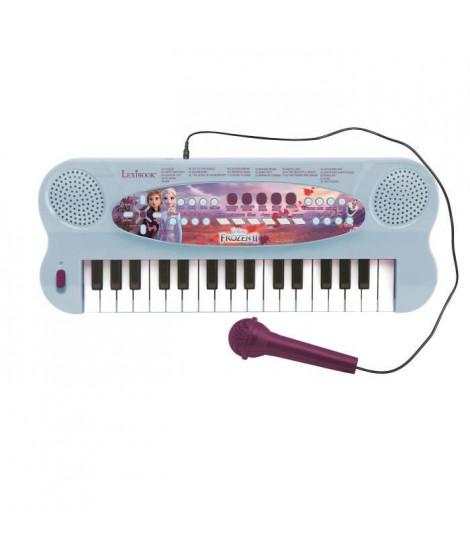 LEXIBOOK - La Reine des Neiges II - Clavier Électronique avec Micro (32 touches)