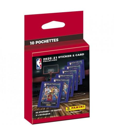 NBA 2020-21 - ECO-BLISTER DE 10 POCHETTES