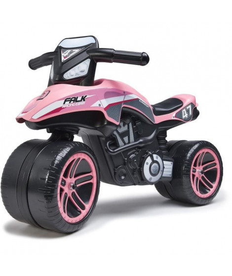 Porteur Moto Falk Racing Team - Rose