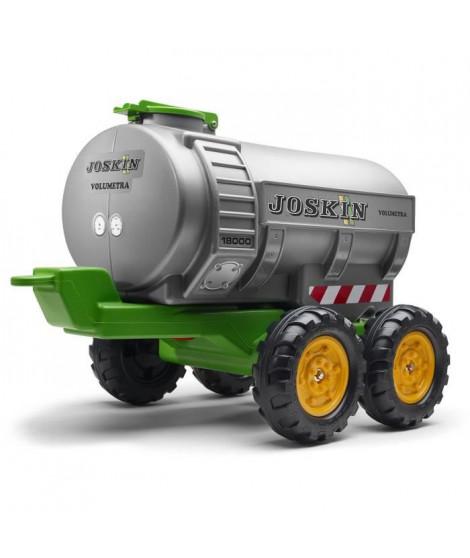 Remorque citerne 30 litres Joskin avec robinet et épandeur