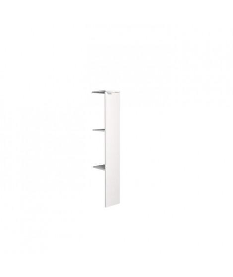 SWEAT Colonne 1 porte - Blanc - L 23 x P 27 x 140 cm