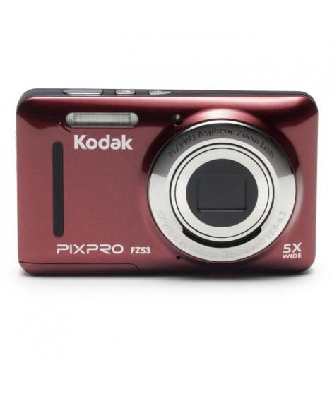 KODAK CZ53-RD - Kodak PixPro - Appareil photo Compact - Zoom Optique x5 -Capteur CCD 16 millions de pixels - Écran LCD 2,7'' …