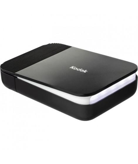 KODAK - SMILE Printer - Imprimante photo bluetooth compacte - Impression thermique - Batterie Lithium - Noir et blanc