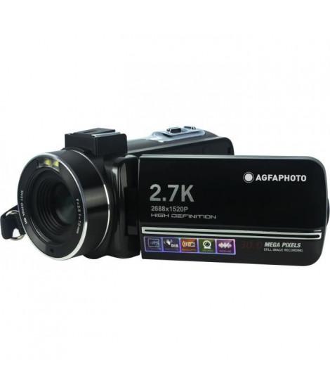 AGFA PHOTO - Caméscope - CC2700 - Noir - Ecran tactile 3.0'' - 2,7K