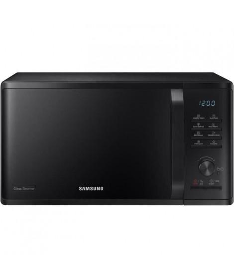 SAMSUNG - MS23K3555E - Micro-ondes solo 23L - Contrôle électronique + bouton - Fonction maintien au chaud